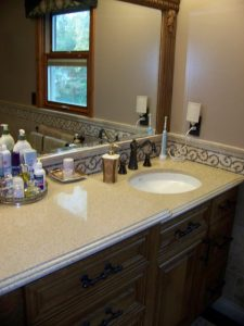 Okemos Master Bath Remodel After