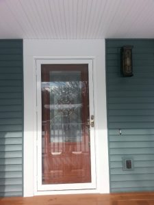 Lansing Front Porch and siding After