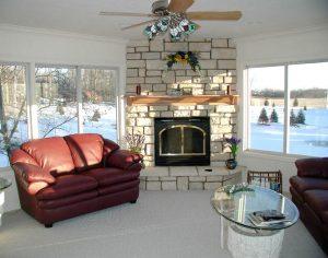Mason Fireplace