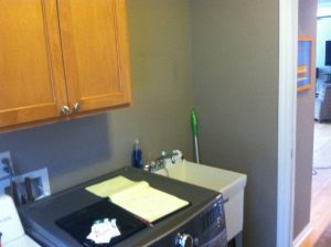 Haslett Laundry Room Before