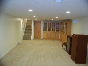 East Lansing Meridian Township Basement After