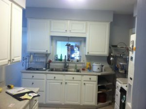 East Lansing Kitchen Remodel Before