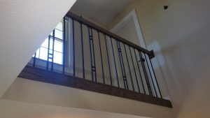 Mason Stairwell and Banister